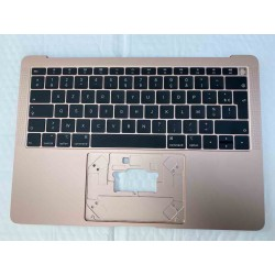 A1932 Top Case Clavier Azerty Or Rose MacBook Air 13 Retina 2018/2019