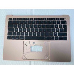 A1932 Top Case Clavier Azerty Or Rose MacBook Air 13 Retina 2018/2019