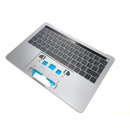 """Topcase + clavier Français macbook pro 13"""" A1706 Gris Sideral"""