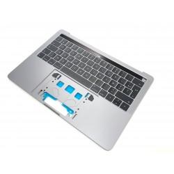 """Topcase + clavier Français macbook pro 13"""" A2159 2 Touchbar Silver Argent 2019/2020"""