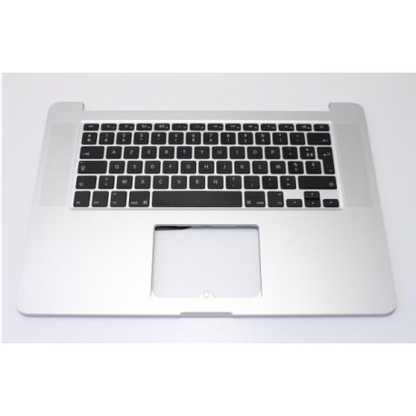 "Occasion Topcase clavier Français Apple Macbook pro 15"" Rétina A1398 2012"
