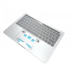 """Topcase + clavier Français macbook pro 13"""" A2251 Silver Argent 2020 4 Ports USB-C"""