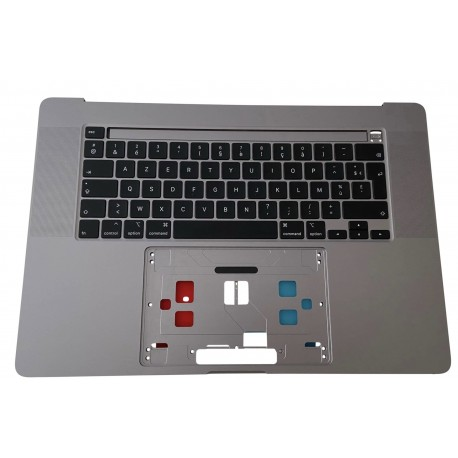 Topcase Clavier Azerty gris sideral Apple Macbook Pro 16 A2141 2019/2020