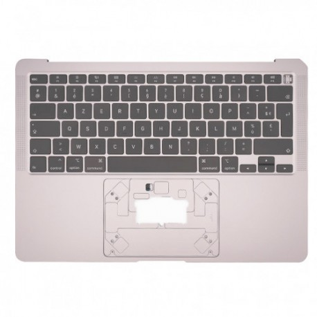 "Topcase Silver et clavier Azerty Macbook Air 13"" 2020 A2179"