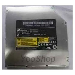 Graveur DVD SuperDrive SATA 12.7mm GA32N pour Apple Mac mini 2010 et iMac Alu