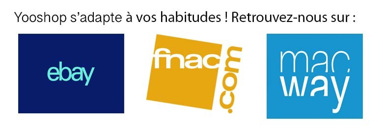 Marketplace Yooshop - eBay - Amazon - Cdiscount - MacWay - Fnac